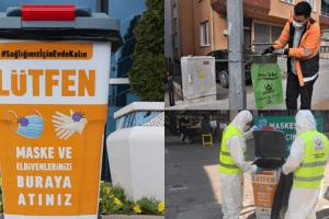 Altınordu Belediyesi'nden Hijyenik Yeni Nesil Çöp Kutusu