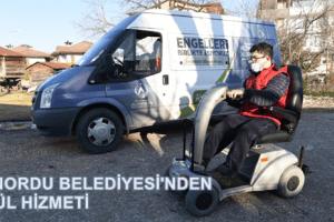 Başkan Tören'den Engelli Gence Araç Sürprizi