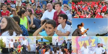 Canik Belediyesi Yaz Etkinliği İle Coşturdu