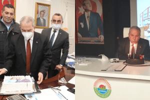 İlkadım Personelinden Başkan Demirtaş'a Doğum Günü Sürprizi