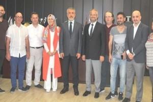 19 Mayıs Gazeteciler Cemiyeti'nden Rektör Bilgiç'e Ziyaret
