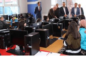 """""""Okul ve Destek Projesi"""" Bafra'da Start Verdi"""