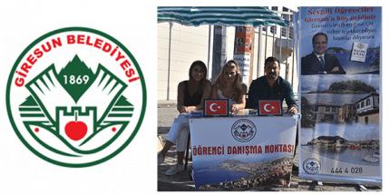 Giresun Belediyesi Öğrencilere Ev Sahipliği Yapıyor