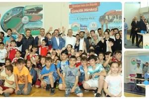 İlkadım'da Yaz Spor Okullarına Görkemli Açılış