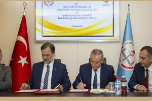 Milli Eğitim Bakanlığı ile Kızılay Arasında İşbirliği Protokolü