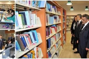 Vali Osman Kaymak Yeni Merkez Kütüphanesini Ziyaret Etti