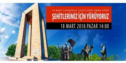 OMÜ, Samsunlularla Birlikte 18 Mart'ta Şehitlerimiz için Yürüyecek