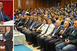 Azerbaycan'nın Ankara Büyükelçisi OMÜ'de Konferans Verdi