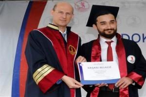 Kaymakam Adayı Giriş Sınavı Türkiye Birincisi de OMÜ'den