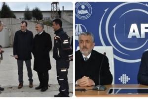 Rektör Bilgiç Samsun AFAD'ı Ziyaret Etti