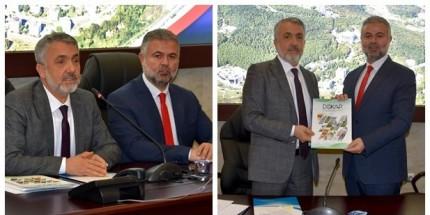 OMÜ, ÜNİ-DOKAP Başkanlığını Gaziosmanpaşa Üniversitesi'ne Devretti