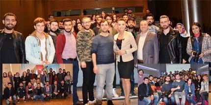 OMÜ'lü İletişimciler Ulusal Medyaya Çıkarma Yaptı