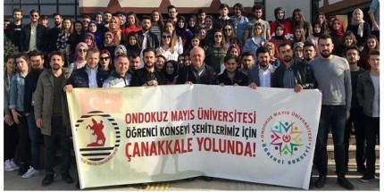 OMÜ'lü Öğrenciler Çanakkale'ye Gidiyor