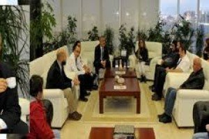 Açık Kapı Gününde Rektör Bilgiç'e Kahve Süprizi