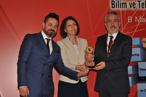 Samsun Teknopark'a En İyi Üçüncülük Ödülü