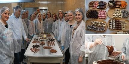 Butik Çikolata Kursları İstihdama Katkı Sağlıyor