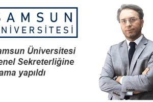Samsun Üniversitesi Genel Sekreterliğine Salih Kesgin Atandı