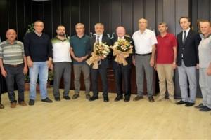 Samsun Üniversitesi Rektörü Görevi Devraldı