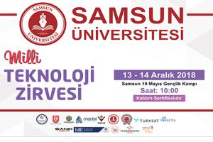 Samsun Üniversitesi Milli Teknoloji Zirvesine Ev Sahipliği Yapacak