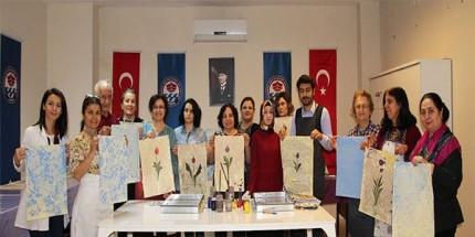 Ebru Sanatı Kursu Başladı
