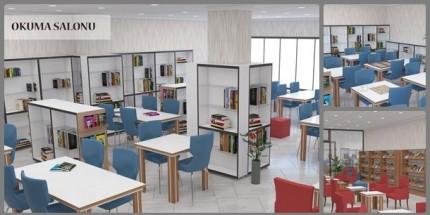 Tekkeköy İlçe Halk Kütüphanesi Örnek Olacak
