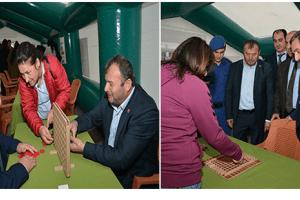 Terme'de Zekâ Oyunları Sergisi Açıldı