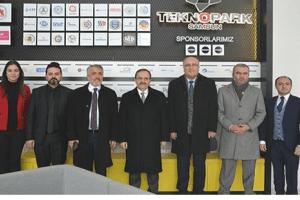 Başkan Şahin'den Samsun Teknopark'a Ziyaret