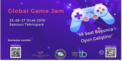 Global Game Jam Etkinliği Samsun Teknopark'ta