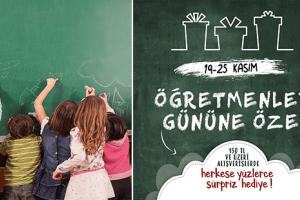 Yeşilyurt AVM'de Öğretmenler Gününe Özel Bul Kazan