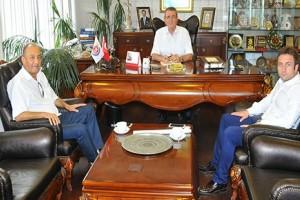 TÜÇİAD Başkanı Koçak, Murzioğlu'nu Ziyaret Etti