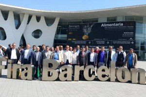 Bafra TSO, Üyeleriyle Barselona'da