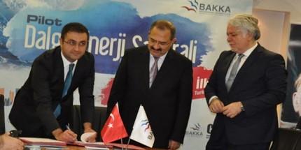 Zonguldak'ta Dalgalardan Elektrik Üretilecek