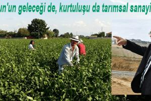 """Başkan Zihni Şahin: """"Gelecek Tarımsal Kalkınmada"""""""