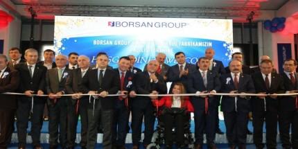 Borsan Aüminyum Kablo Fabrikasının Açılışı Törenle Yapıldı