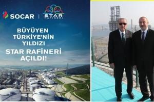 STAR Rafinerisinin Açılışı Gerçekleştirildi