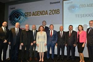 CEO'ların Yeni Yıl Gündemi CEO Ajanda 2018'de Konuşuldu