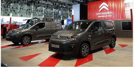 Yeni Citroën Berlingo Van'a Yılın Uluslararası Ticari Aracı Ödülü