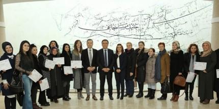 Canik'ten Kadınlara Girişimcilik Belgesi