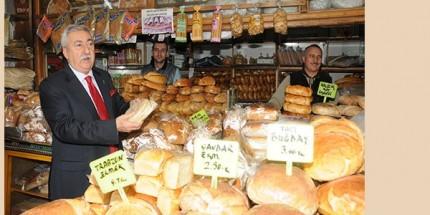 Ülkemizde Üretilen Ekmeğin Yüzde 5,4'ü İsraf Ediliyor