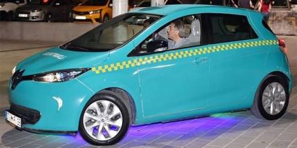 Elektrikli Taksiler Görücüye Çıktı