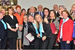 """""""Kadın Liderler Akademisi"""" Projesinin Sertifika Töreni Yapıldı"""