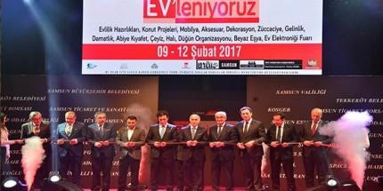 Samsun'da EV'leniyoruz Fuarı Açıldı