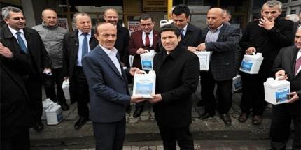 Büyükşehir'den Fındık Üreticisine 70 bin TL'lik Destek
