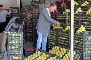 Sebze ve Meyve Hali Yoğun Çalışıyor