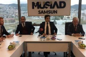 """MÜSİAD Başkanı Haluk Tan, """"Biz Bu Şehir İçin Doğruları Söyledik"""""""
