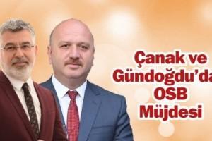 Oktay Çanak ve Metin Gündoğdu'dan OSB Açıklaması