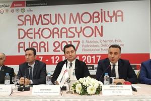 Samsun Mobilya Fuarı Karadeniz İhracatı Gücüne Güç Katacak