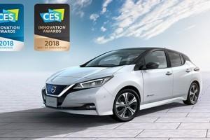 """Yeni Nıssan LEAF """"En İyi İnovasyon"""" Ödülünü Kazandı"""