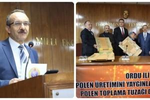 Ordu, Bal Üretiminde Türkiye'de Birinci Sırada Gelmektedir
