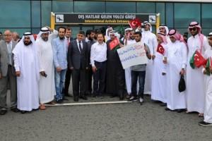 Arap İşadamı ve Turist Kafilesi Ordu'ya Geldi